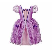 Vestido Fantasia Princesinha Sofia - Pronta Entrega