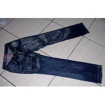 Calça Jeans Feminina Marca Canal D Mancha Tam 36 S/strech Tt
