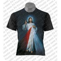 Camiseta Católica - Jesus Misericordioso - Oxalá