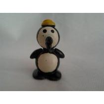 Boneco Artesanal Feito De Bola De Gude Pinguim