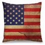 Almofada Bandeira Dos Estados Unidos Ou Reino Unido