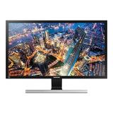Monitor Samsung U28e590d Led 28  Preto 110v/220v