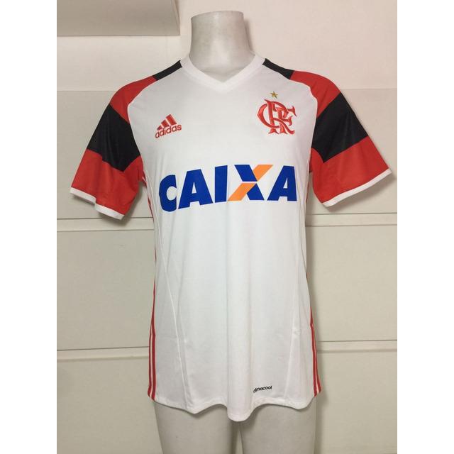 Camisa Original Flamengo adidas Branca Jogo 2 2016 em Congonhas - MG ... ba72050e0235d