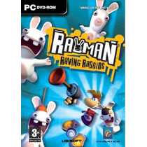 Game - Pc Dvd - Rayman Raving Rabbids - Original Lacrado