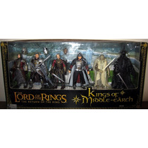 Lord Of The Rings - Senhor Dos Anéis - Kings Of Middle Earth