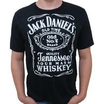 Camiseta Whisky Jack Daniels Whisky Johnnie Walker Camisa