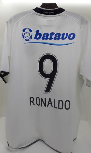 cab4a95b17 Camisa Corinthians I 2009 Nº 9 Ronaldo Fenômeno
