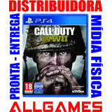Call Of Duty Ww2 Ps4 World War 2 Wwii  Midia Física Lacrado