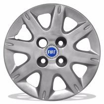 Jogo Calota Para Fiat Aro 13- Uno Way-mille-fire-economic