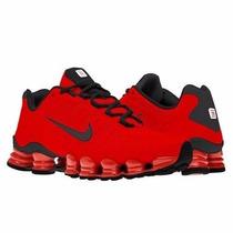Tênis Nike Shox Tlx (12 Molas) Vermelho Ferrari Original