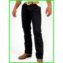 Calça Jeans Sarja Masculina Slin Fit Lycra / Otimo Caimento