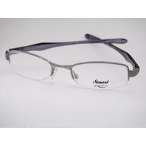 Armação Para Óculos De Grau Smart Cinza Esportiva