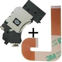 Kit Leitor Óptico + Flat J Playstation 2 Slim Ps2 9000x