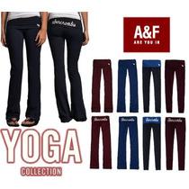 Calça Yoga Legging Longa E Capri Feminina Abercrombie & Fit