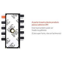 Hub Multi Fan Cooler 10x 4 Pinos Controle Pwm Cpu Sata