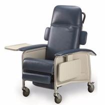 Cadeira De Rodas Hospitalar Invacare Deluxe Couro Reclinavel