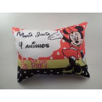 10 Almofadas Personalizadas Lembrança Aniversário Minnie