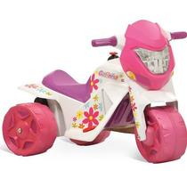 Ban Moto Eletrica Infantil Gatinha Menina Bandeirante