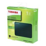 Hd Externo Portátil Toshiba Canvio Basics 1tb Preto