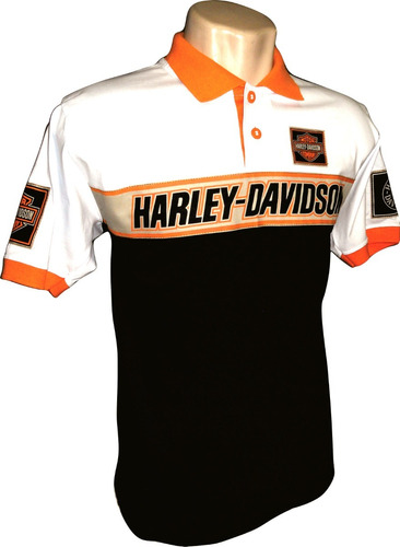 Leve 04 Modelos Camiseta Polo Harley-davidson - Frete Grátis. R  340.6 9453bf13d3173