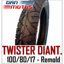 Pneu Moto Twister Dianteiro 100/80/17 - Remold