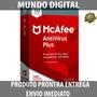 Antivirus Mcafee 2018 Plus Licença 1 Pc 1 Ano + Brinde