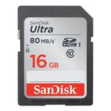 Cartão De Memória Sandisk Sdsdunc-016g Sdsdunc-016g-gn6in Ultra 16gb