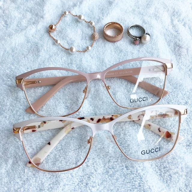 Armação Óculos Estilo Gatinho Feminino Acetato Frete Grátis em ... e0a6abb30b