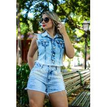 Short Jeans Customizado Nos Tamanhos 34 Ao 44! Apenasr$69,99
