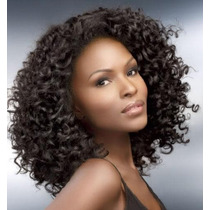 Kanekalon Tela Castanho Natural 15cm Bohemian Curl Importado