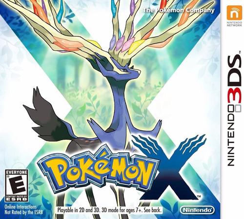Pokemon X 3ds Nintendo 3ds Lacrado Pronta Entrega