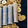 150 Moedas Da Sorte Do Japão Furo Original 5 Ienes Yen Yens