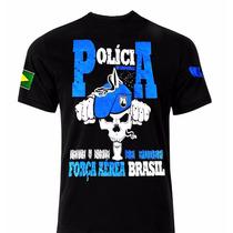 Camiseta Militar- Polícia Da Aeronáutica- Força Aérea Airsof