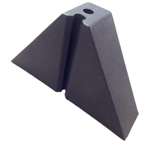 Calço Para Telha Trapézio T 100 2 Furos Kit 350 Peça(s)