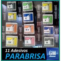 Adesivo Ok Parabrisa Painel Coluna Meriva Astra Celta Corsa