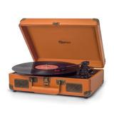Vitrola Raveo Sonetto Toca-discos Bluetooth Reproduz E Grava