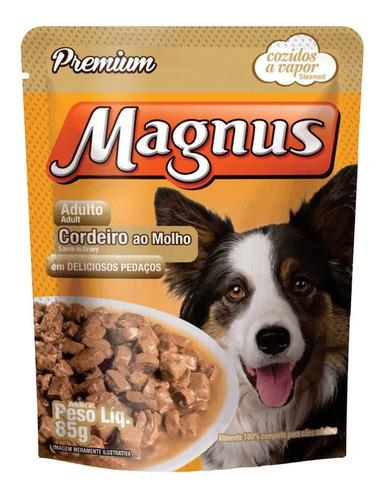 Sache Magnus Cordeiro Para Cães Adultos - 85 G