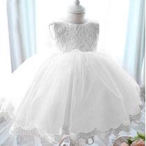 Vestido Renda Maravilhoso P Festa Casamento Batizado