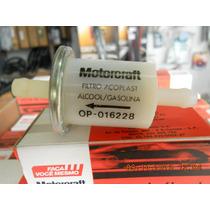 Filtro Combustível Original Motorcraft- Ford E Vw Alc/gas