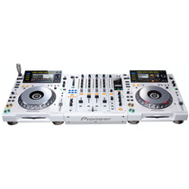 Pioneer Kit Cdj 2000 Djm 900 Branco Serie Limitada Dj Mixer