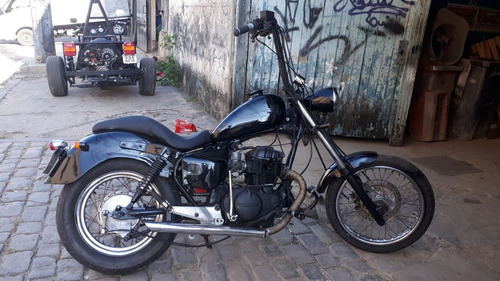 HONDA  CUSTOM CHOPPER CB400