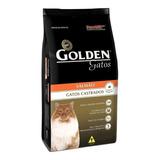 Ração Golden Castrados Premium Especial Gato Adulto Salmão 10.1kg