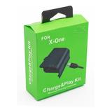 Bateria Carregador Xbox One Cabo Recarregável P/ Controle