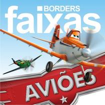 Faixa De Adesivo De Parede Aviões Da Disney