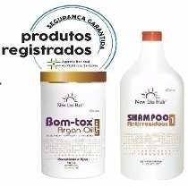 Botox Capilar New Liss Hair + Frete Gratis + Shampoo Limpeza