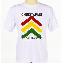 Camiseta Camisa Estampada Banda Reggae Cristão Christafari