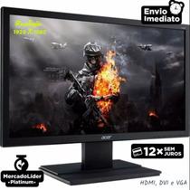 Monitor Acer 24 Full Hd (1920 X 1080) 60hz 5ms Hdmi/dvi/vga