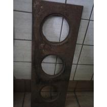 Antiga Chapa Fogão Lenha - Ferro Fundido