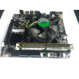 Kit Intelh61 Lga1155 + Intel I3 + Mem 4 Gb Ddr3 + Cooler