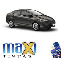 Tinta Spray Automotiva Ford Cinza Moscou + Verniz 300ml